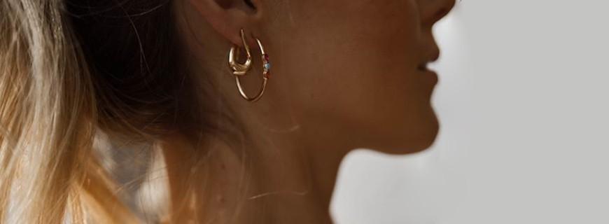 Boucles d'oreilles plaqué or ou argent, sublimez vos oreilles | Bijouterie Verhelle